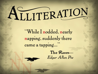 Alliteration Edgar Allen Poe The Raven