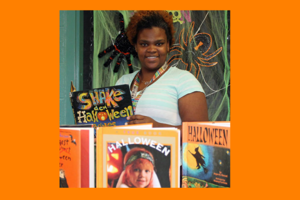 Beyonka Wilson, Martin Luther King Library, Lower 9th Ward.