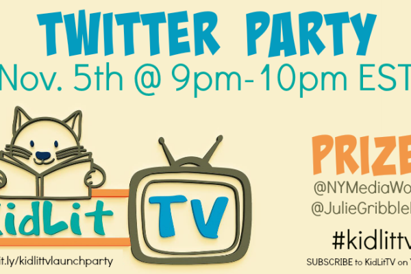 KidLit TV Twitter Party November 5, 2014 @nymediaworks #kidlittv